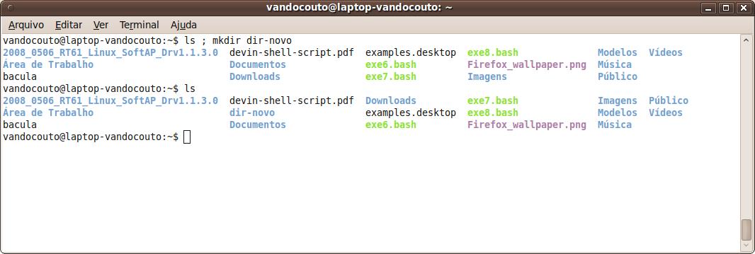 Execu o de comandos tutoriaisgnulinux for Vault docker container